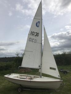 Wanderer sailing dinghy (number 1030)