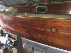25 foot British Folkboat