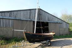 "14'6""POST BOAT WITH TRAILER EXCELLENT"