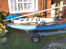 National Solo 14' race dinghy