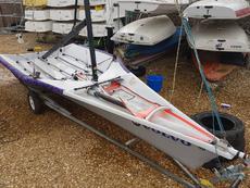 29er, sail number **605**