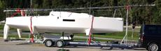 Seascpe 27 plus road trailer