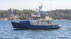 Swedish refitted rescue vessel Gustaf Dalén