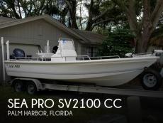 2003 Sea Pro SV2100 CC