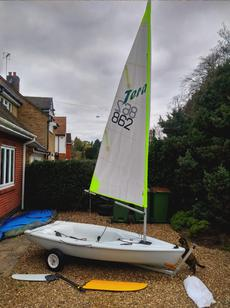 Barely Used RS Tera Sailing Dinghy
