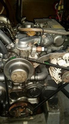 Yanmar 38HP 3JH2 engine, very reliable