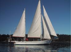 Classic all-teak Colin Archer 53' ketch