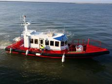 CREWBOAT   PILOT BOAT   RESCUE BOAT