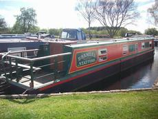 52ft Cruiser Stern Narrowboat. Built by Smith Bothers in 1985