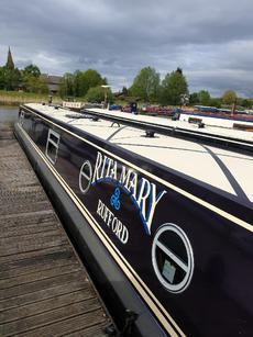 """""""Rita Mary"""", a lovely 62ft trad stern"""