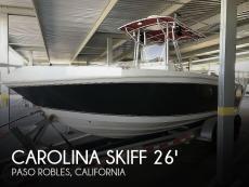 2009 Carolina Skiff 26 Center Console