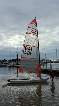 Byte CII Sailing Dinghy carbon rig (also