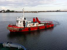 WORKBOAT   TUG BOAT   DIVERBOAT