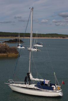 Maxi 95 Swedish cruising yacht, 9.5m