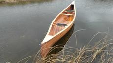 Cedarstrip canoe