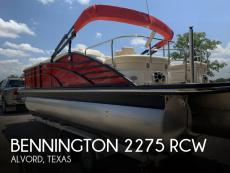 2015 Bennington 2275 RCW