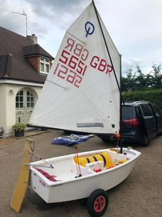 OPTIMIST MONSOON DINGHY 'SPLASH'