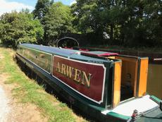 56ft traditional narrowboat