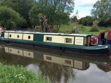 57ft Narrow Boat Cruiser style (Launched 2018)