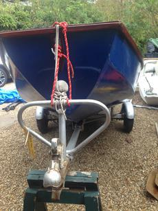 Mirror Dinghy 1978 With Road Trailer