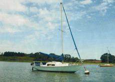 Corribee 21' fin keel cruising yacht