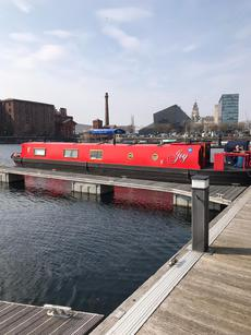 57ft Cruiser style narrow boat.