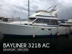 1989 Bayliner 3218 AC
