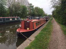 Shena - 50ft cruiser stern narrowboat