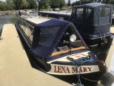 45ft Heron Semi-Trad narrowboat with Lister 27hp diesel engine.
