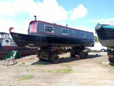 38ft narrowboat.