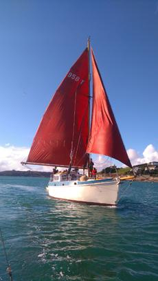 Bermudan 36' Yacht liveaboard sailing