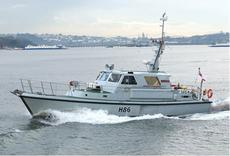 Former HMSML Gleaner - Survey Vessel