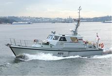 Former HMSML Gleaner - Survey Vessel