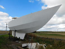 13m Steel Auxiliary Hull and Deck