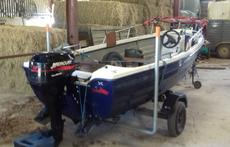 15ft Fishing Boat Outboard and Trailer.