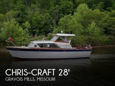 1962 Chris-Craft Constellation 28