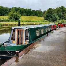 60ft Trad Stern Boatmans Cabin & Engine Room
