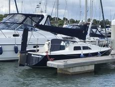 Hunter Delta 25 - Lift Keel Version