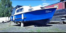 Lovely Freeman MK1 22ft Classic Canal Cruiser