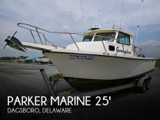 1995 Parker Marine 2520 DV Sport Cabin