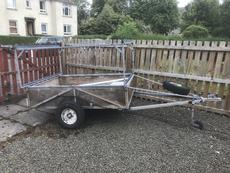 Double Stack Topper Box Trailer