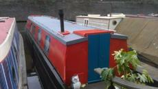 52ft Narrowboat on London Mooring