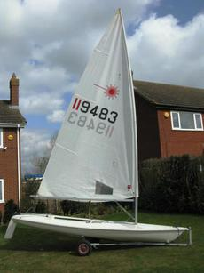 Laser 1 Dinghy and Combo trailer
