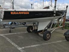 Squib Halloween Sail Number 148