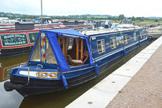 57ft Cruiser Stern Narrowboat