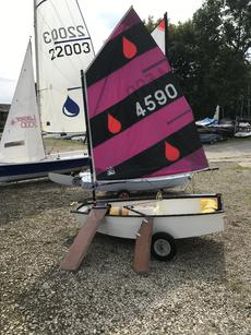 Racing optimist for sale