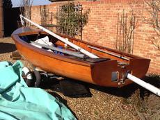 Albacore 15ft sailing boat