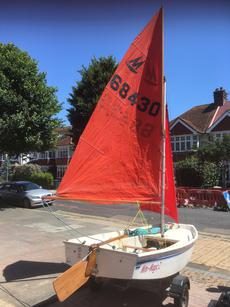 GRP Mirror sailing dinghy for sale
