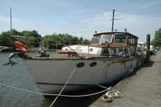 "48' x 13'6"" Admiralty Built Motorboat  Liveaboard  Houseboat"