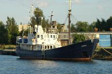 Diving ship for sale